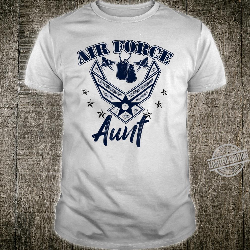 Air Force Aunt Shirt Proud Air Force Aunt Shirt