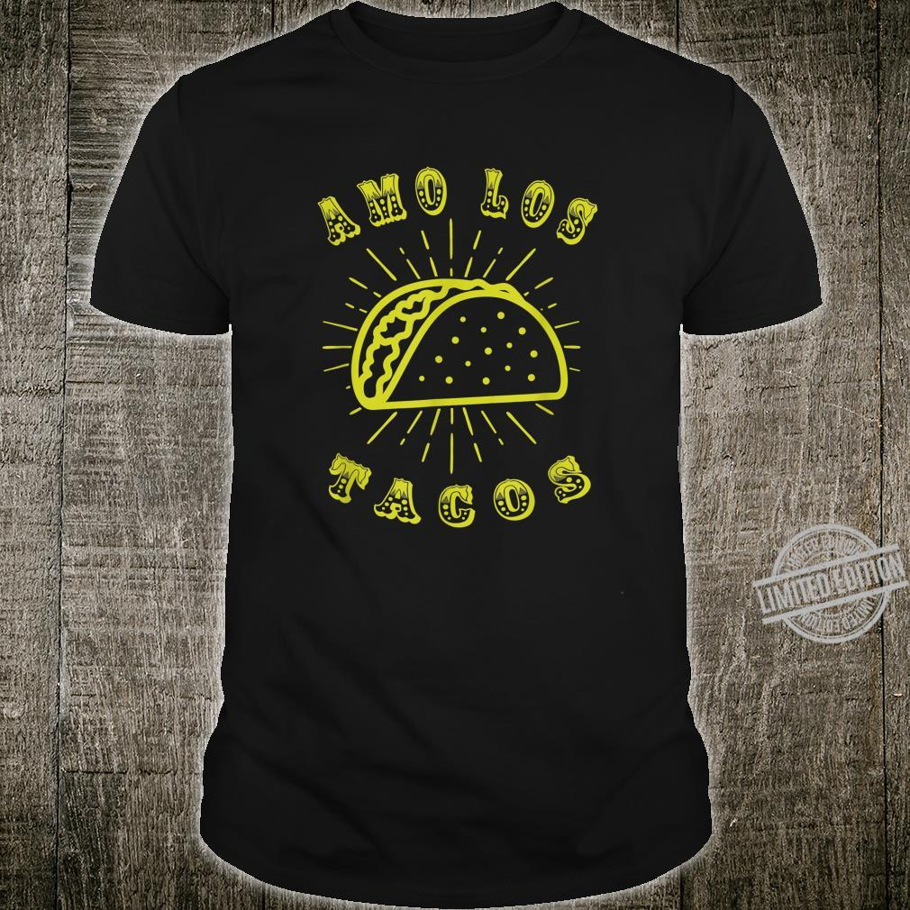 Amo Los Tacos Cinco De Mayo Boys Girls Shirt