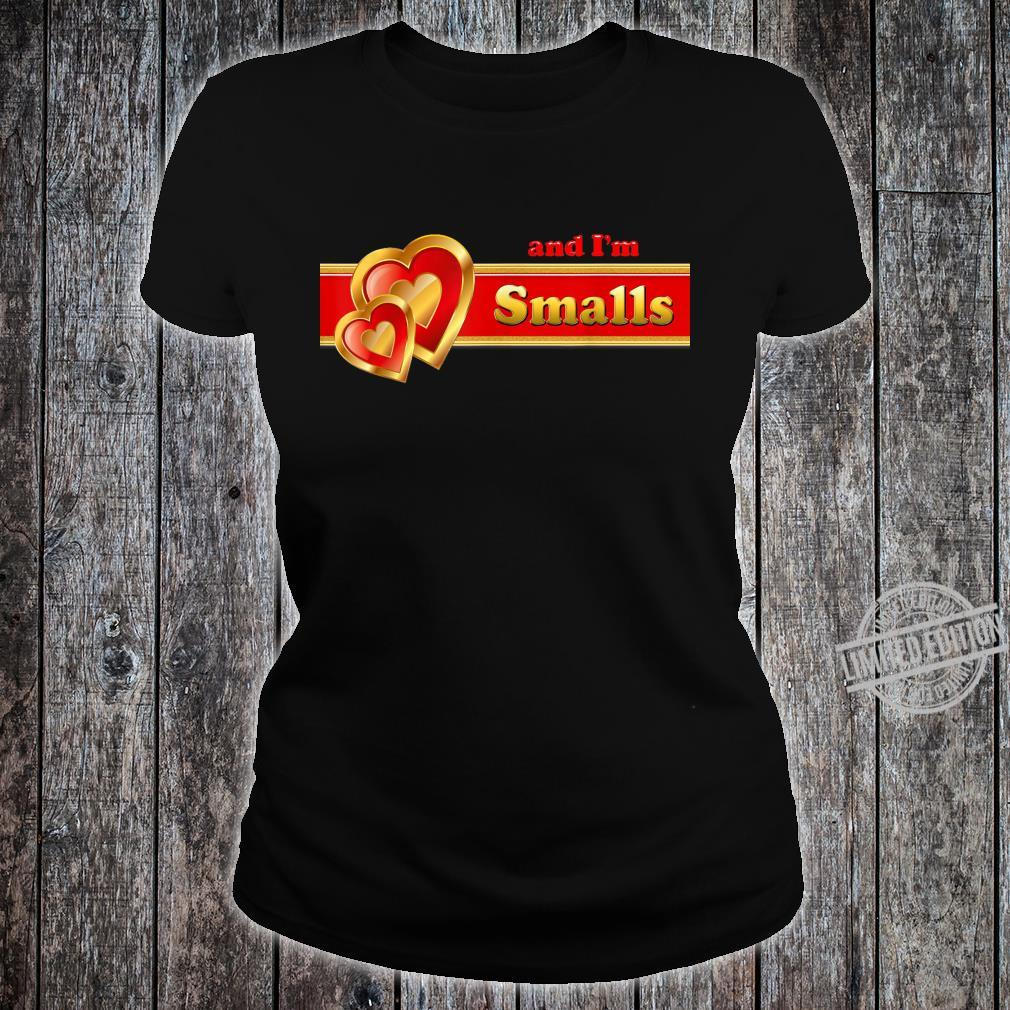 And I'm Smalls matching for couples by Coriani Donaldo Shirt ladies tee