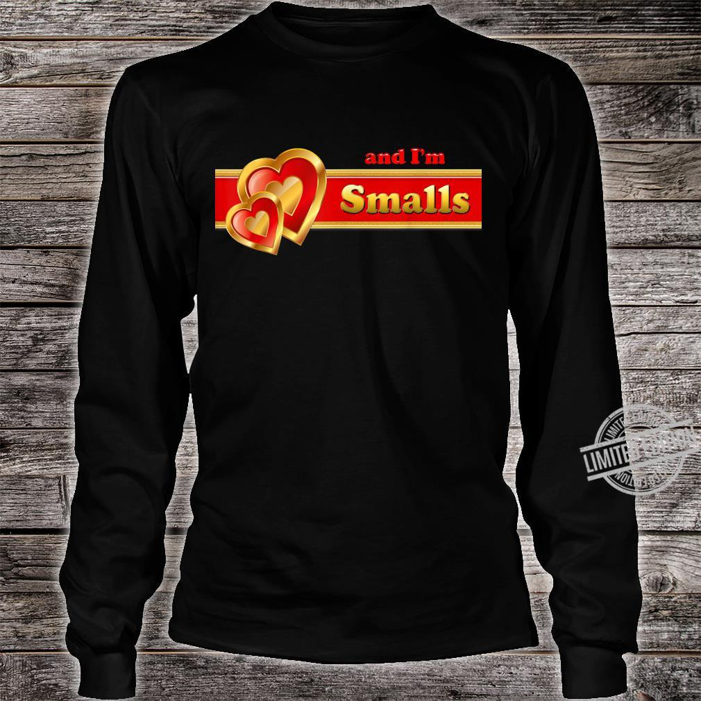 And I'm Smalls matching for couples by Coriani Donaldo Shirt long sleeved