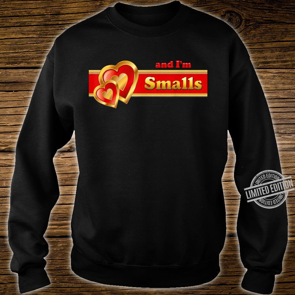 And I'm Smalls matching for couples by Coriani Donaldo Shirt sweater
