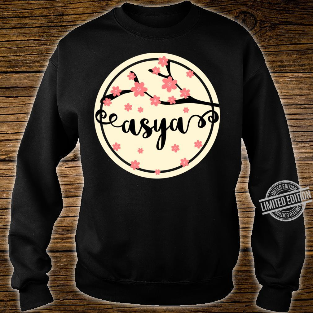 Asya Name Crewneck Shirt sweater