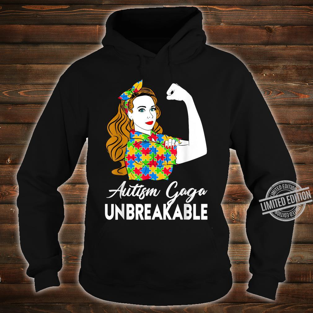 Autism Awareness Autism Autism Gaga Unbreakable Shirt hoodie