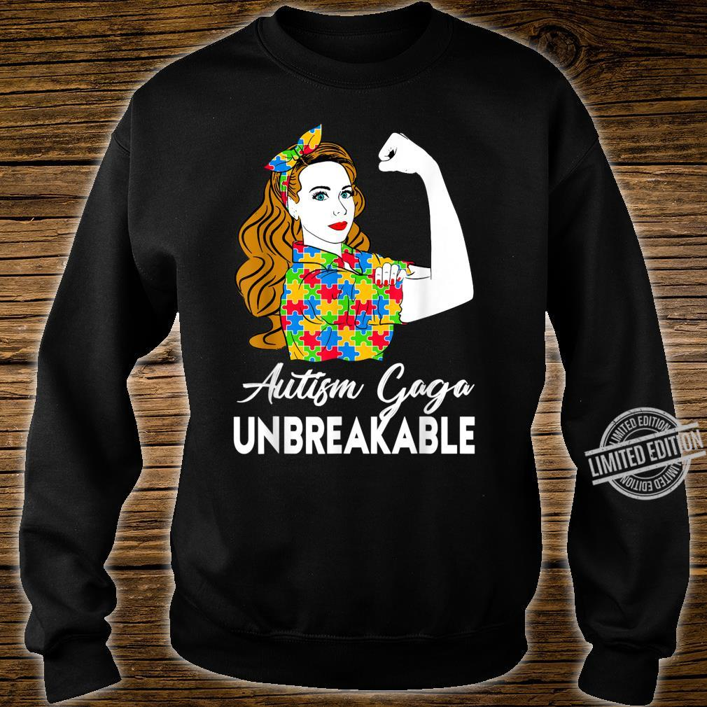 Autism Awareness Autism Autism Gaga Unbreakable Shirt sweater