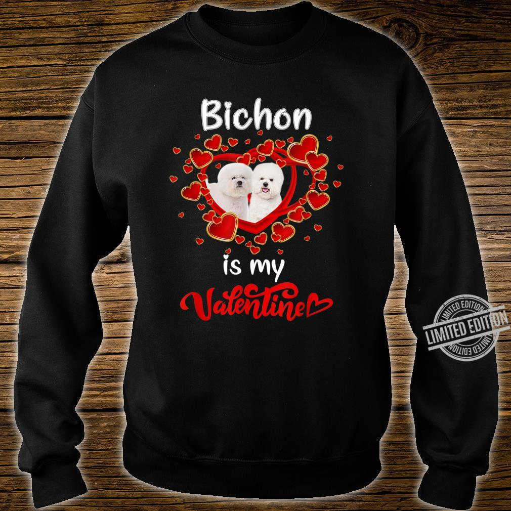 Bichon Is My Valentine Family Costume Lovely Shirt sweater