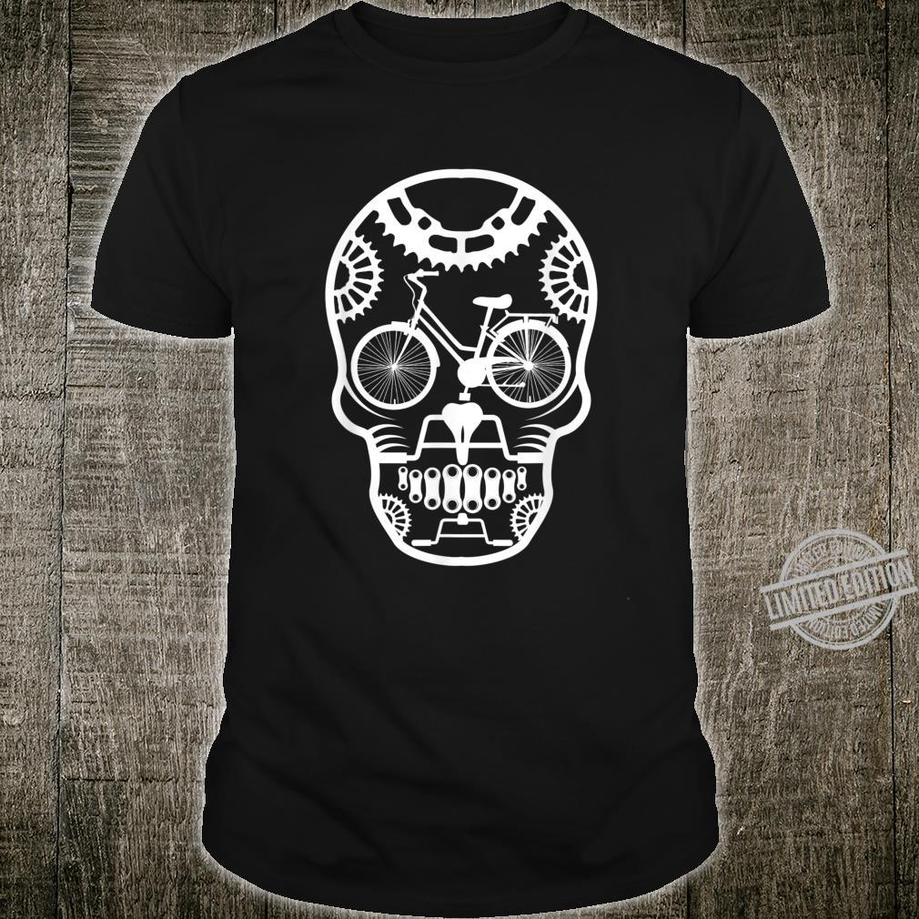Bicycle Skull Mountain Biker And Cyclist Shirt