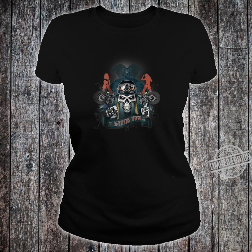 Biker, original Mystic Road Design quality Shirt ladies tee