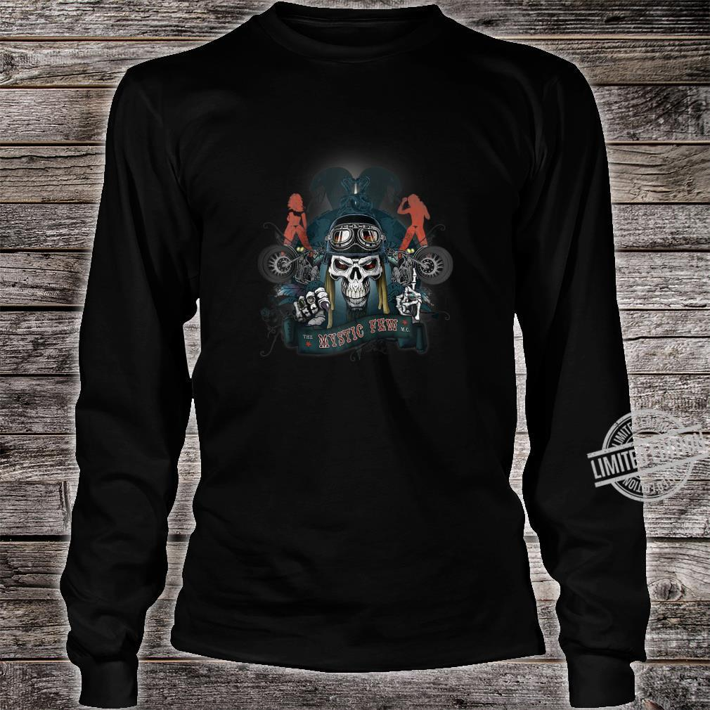 Biker, original Mystic Road Design quality Shirt long sleeved