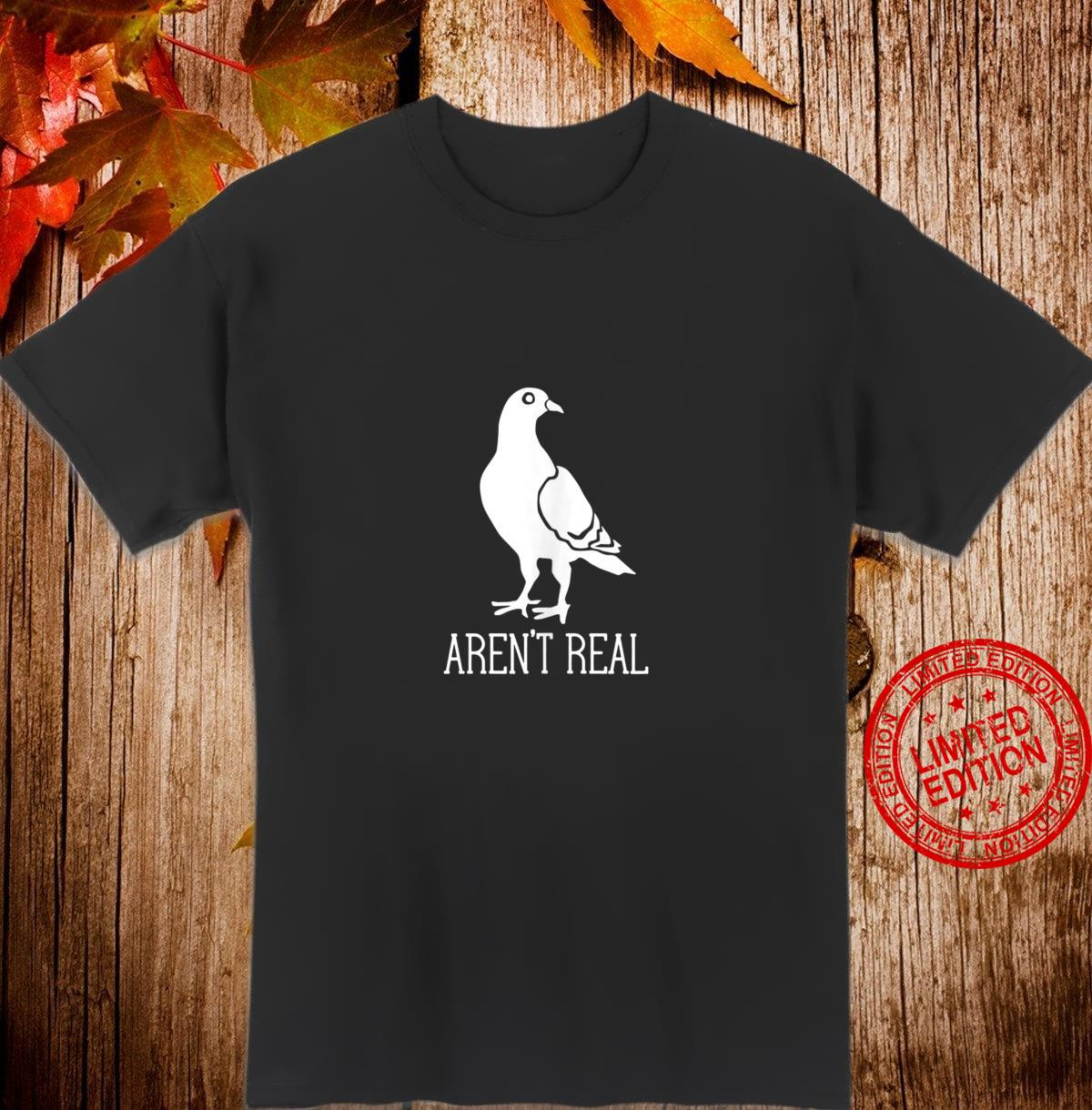 Birds Aren't Real Conspiracy Theory Surveillance Simple Dark Shirt