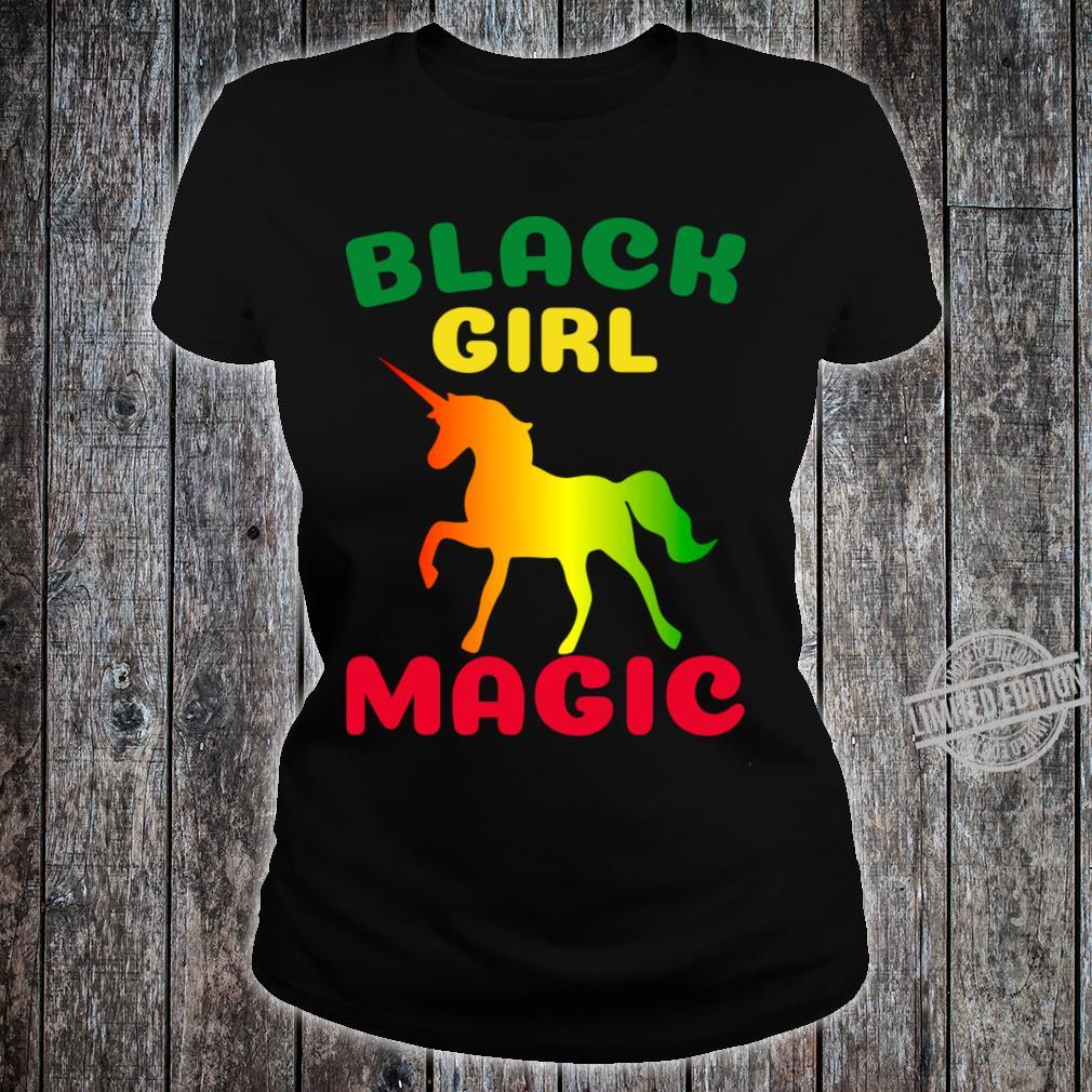 Black Girl Magic Shirt ladies tee