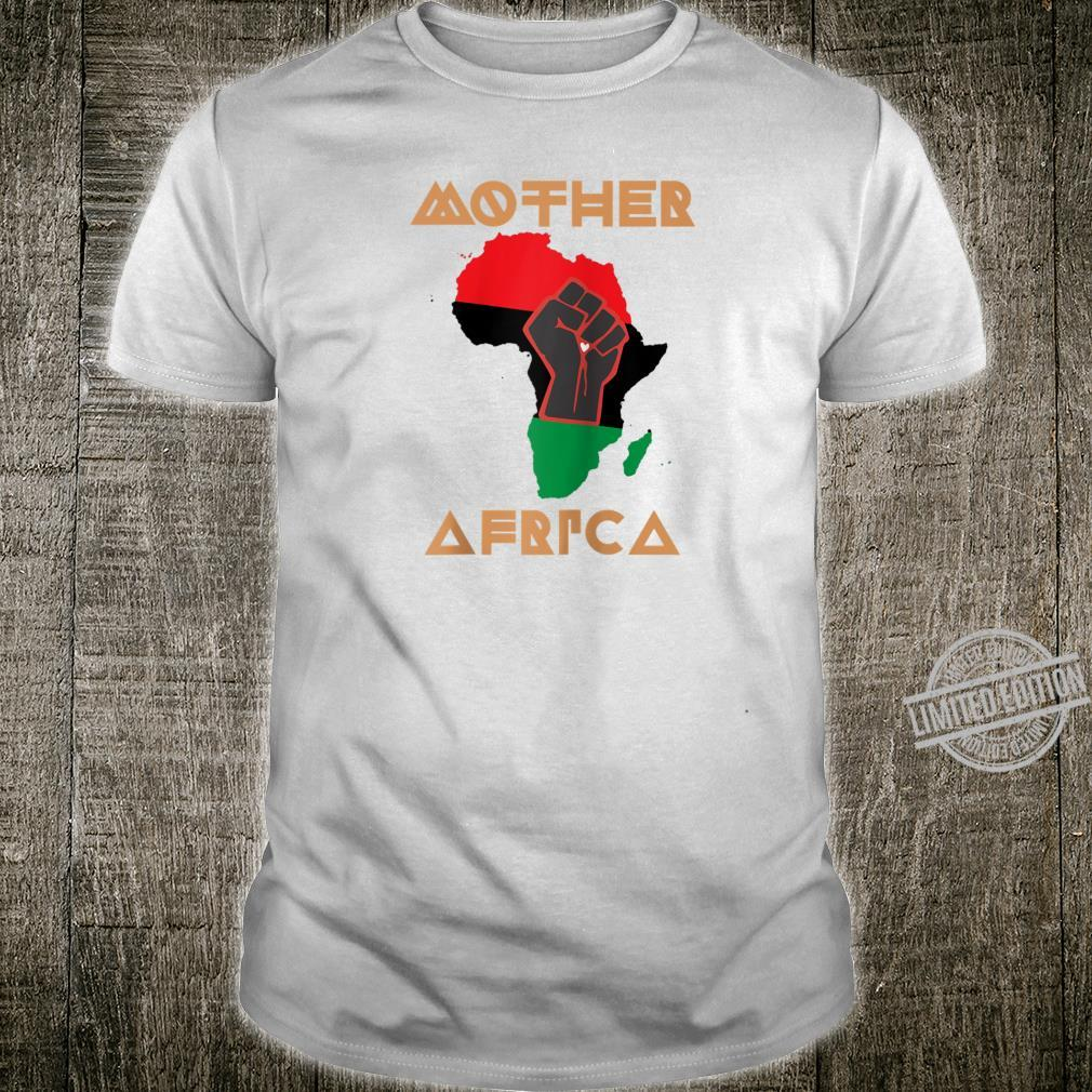 Black Lives Matter Mother Africa BLM Civil Rights Pride Shirt