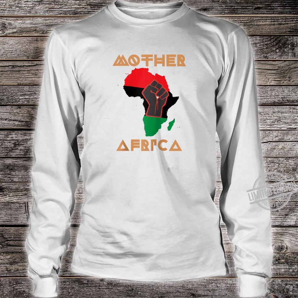 Black Lives Matter Mother Africa BLM Civil Rights Pride Shirt long sleeved