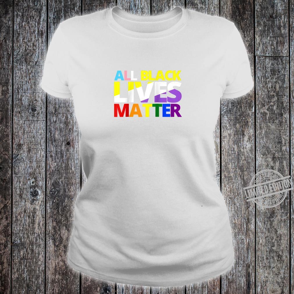 Black Lives Matter Shirt ladies tee