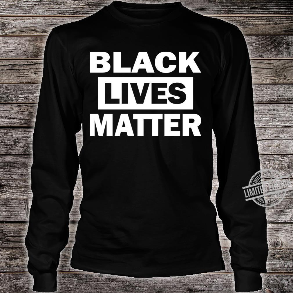 Black Lives Matter Shirt long sleeved