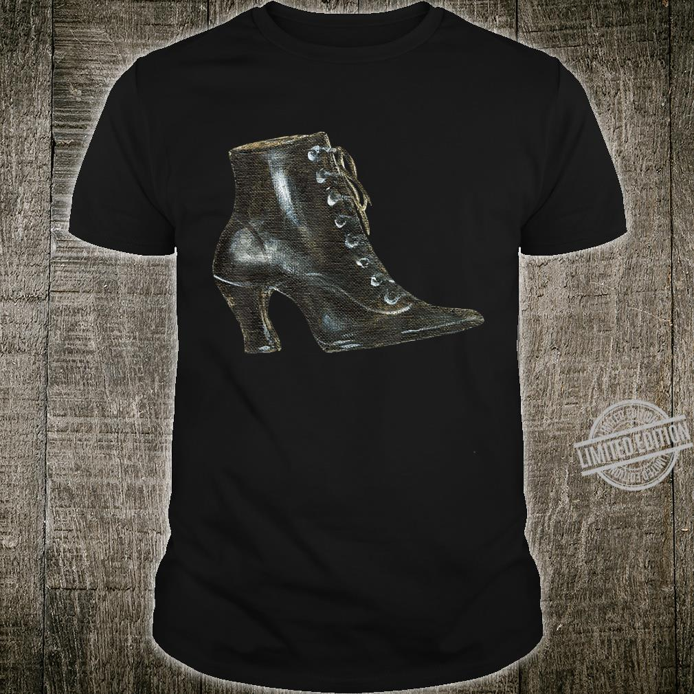 Black Witch Boot Shirt