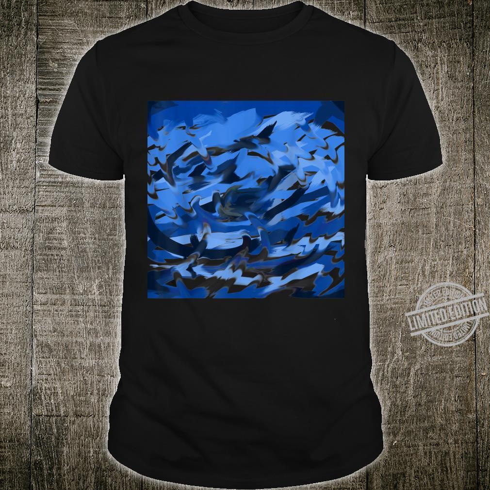 Blue Swirl Shirt