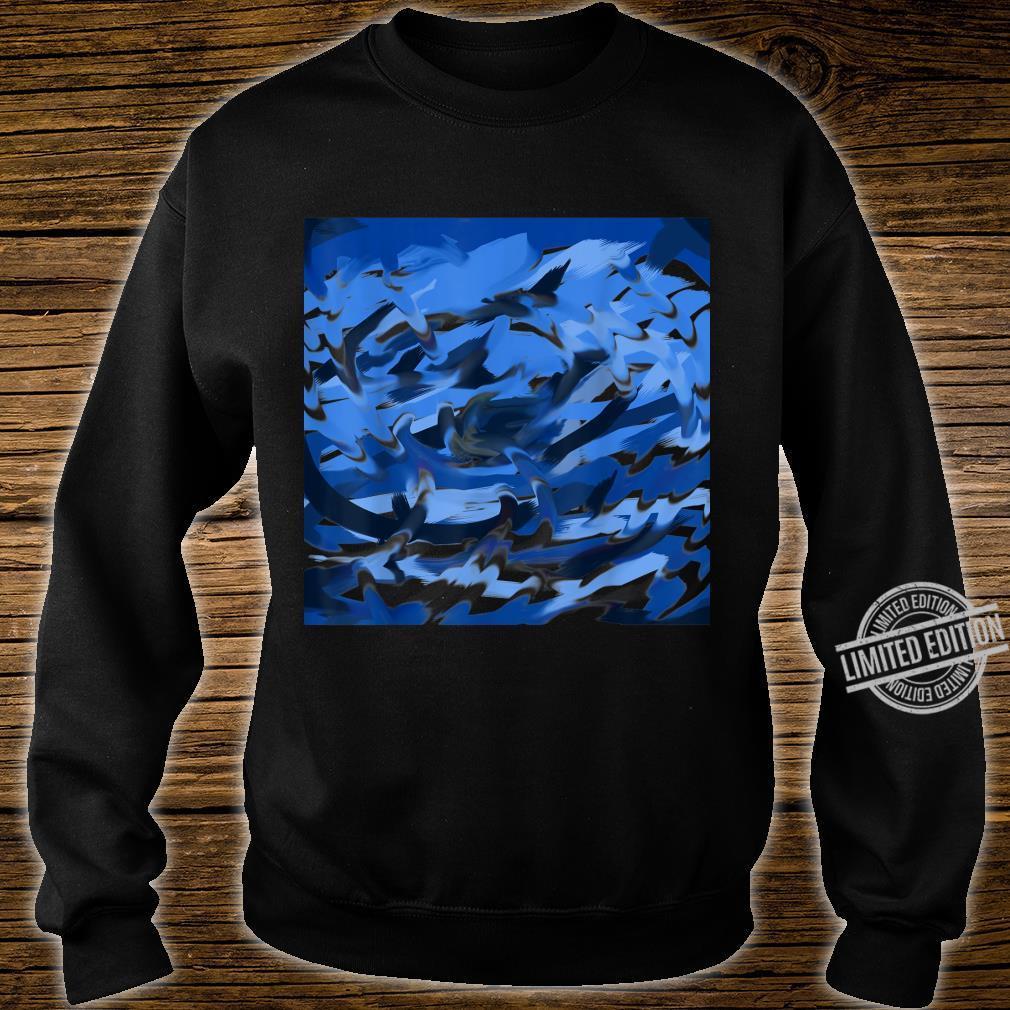 Blue Swirl Shirt sweater