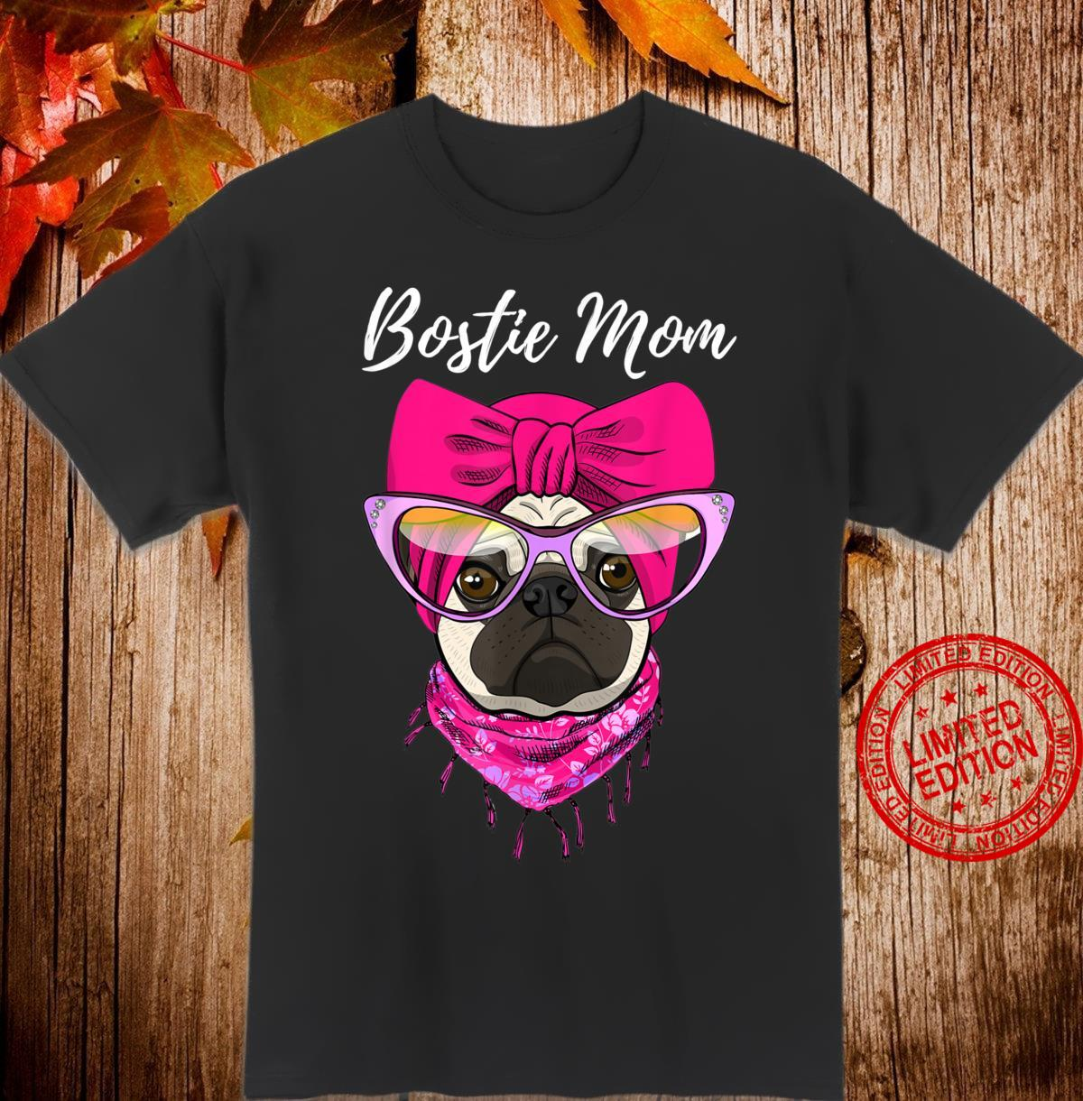 Boston Terrier Mom Shirt