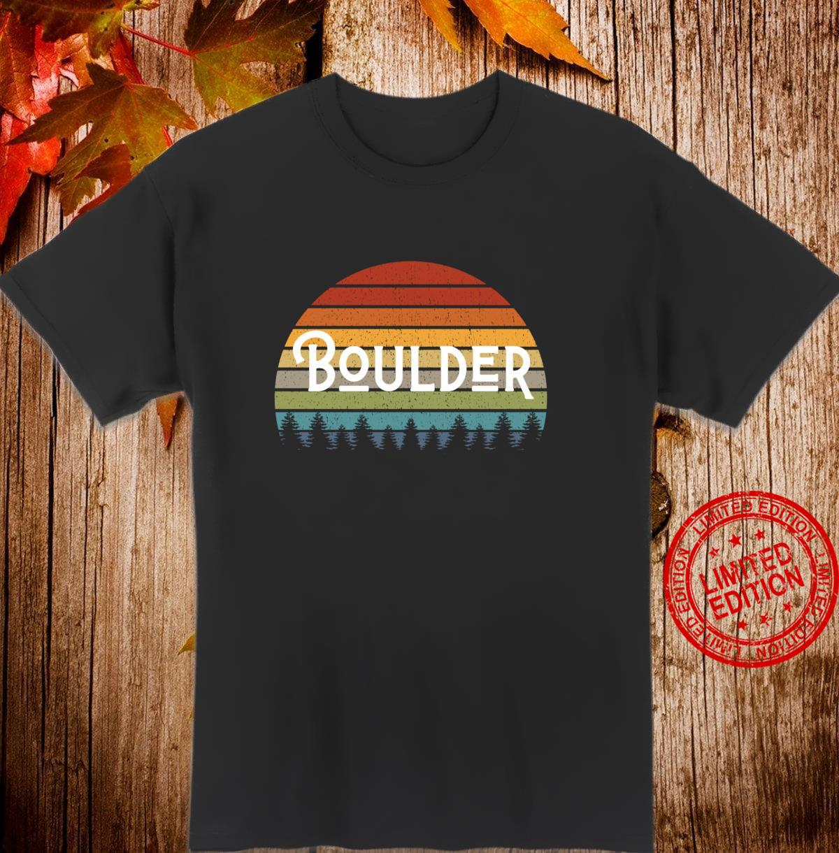 Boulder Colorado Mile High State Pride for Fans and Students Shirt