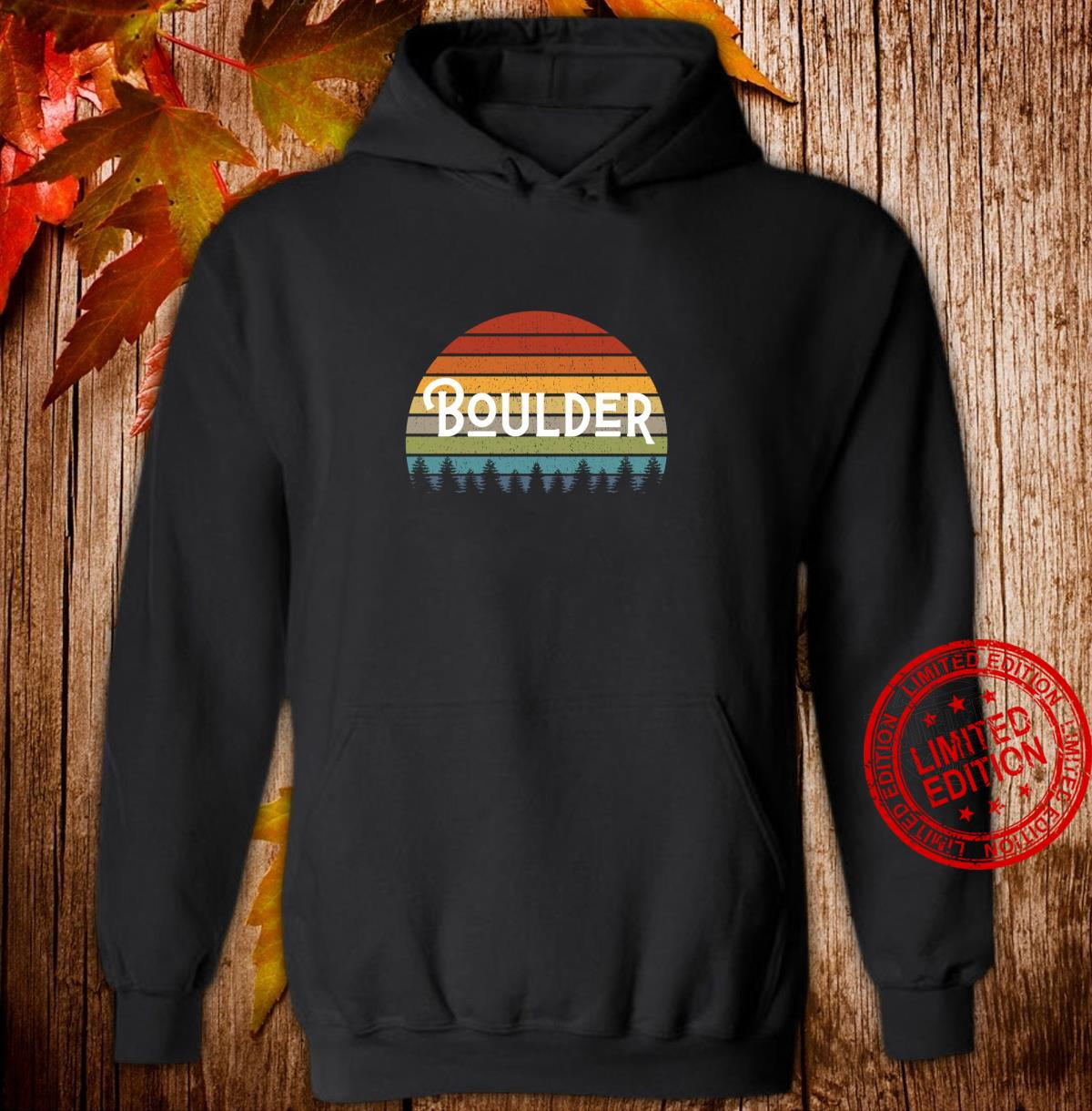 Boulder Colorado Mile High State Pride for Fans and Students Shirt hoodie