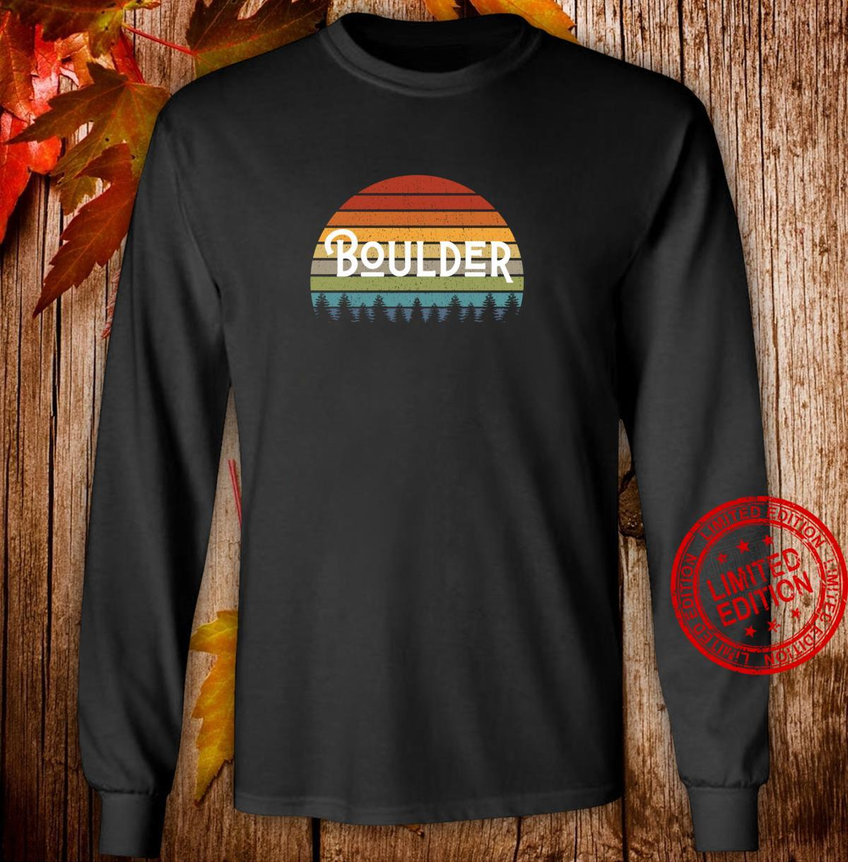 Boulder Colorado Mile High State Pride for Fans and Students Shirt long sleeved
