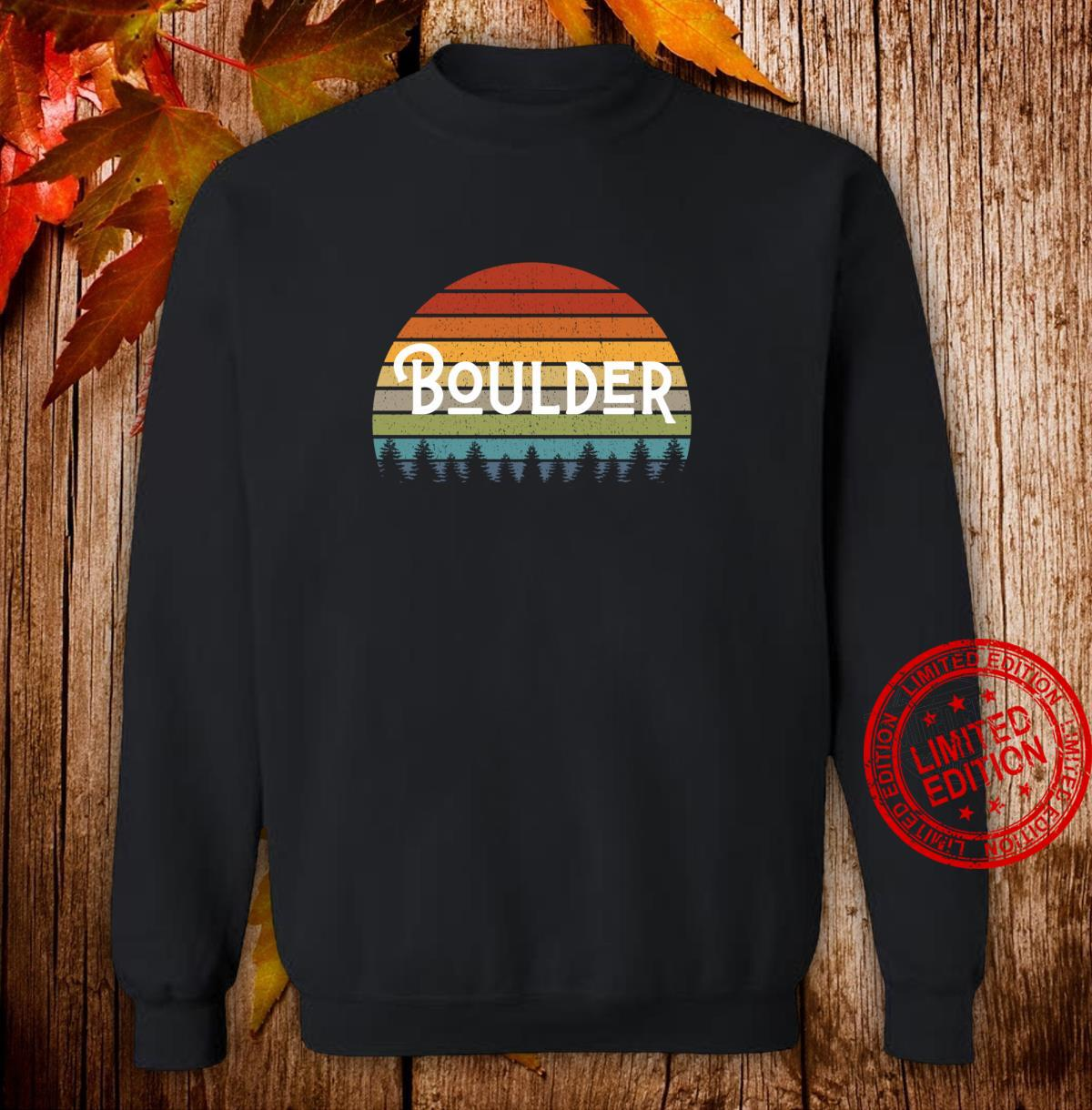Boulder Colorado Mile High State Pride for Fans and Students Shirt sweater
