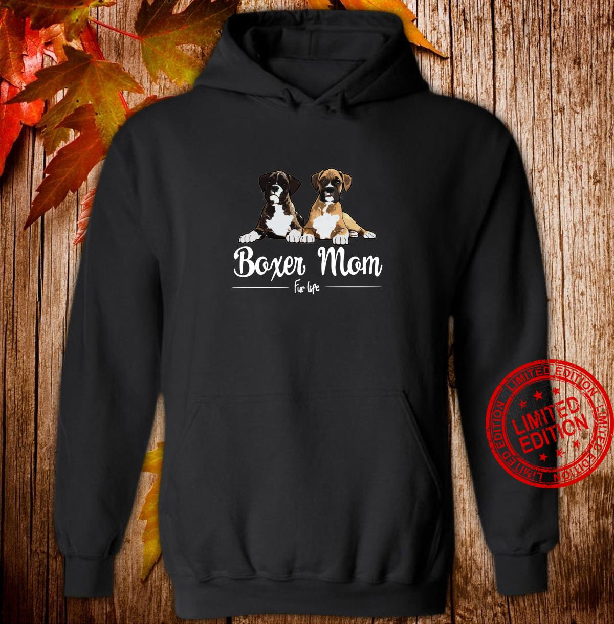 Boxer Mom Fur Life design Shirt hoodie