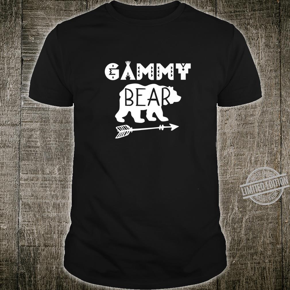 Camping Gammy Bear Grandma Shirt