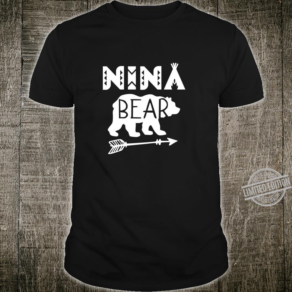 Camping NiNa Bear Grandma Shirt