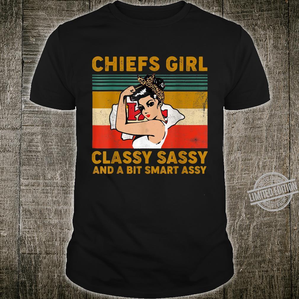 ChiefsGirl ClassySassy And A Bit Smart Assy Football Fans Shirt