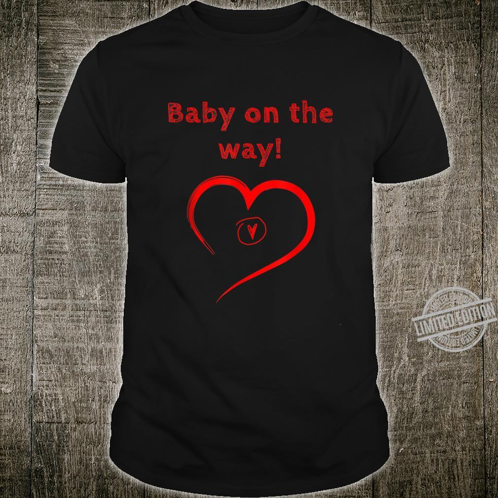 Cute Baby on The Way 2020 Shirt