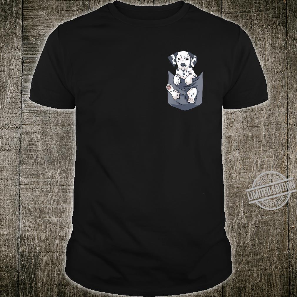 Cute Dalmatian Puppy In Your Pocket Dog Shirt