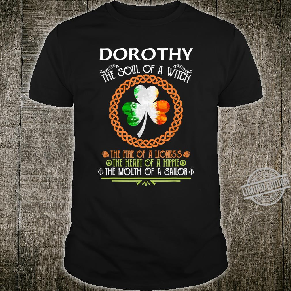 DOROTHY the soul of a witch mermaid st patricks day Shirt