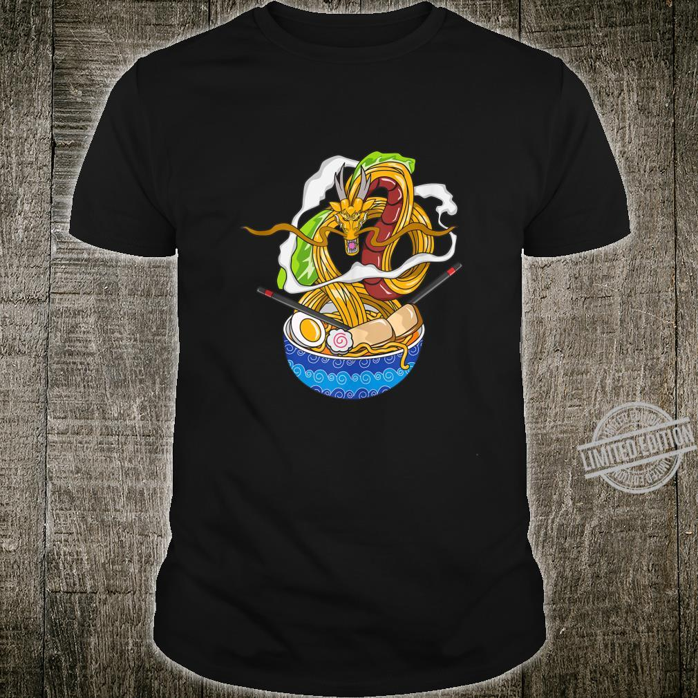 Dragon Chillin Ramen Kawaii Japanese Food Otaku Shirt