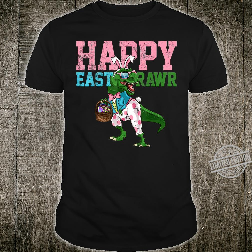 Easter Day Dino Happy Eastrawr Shirt