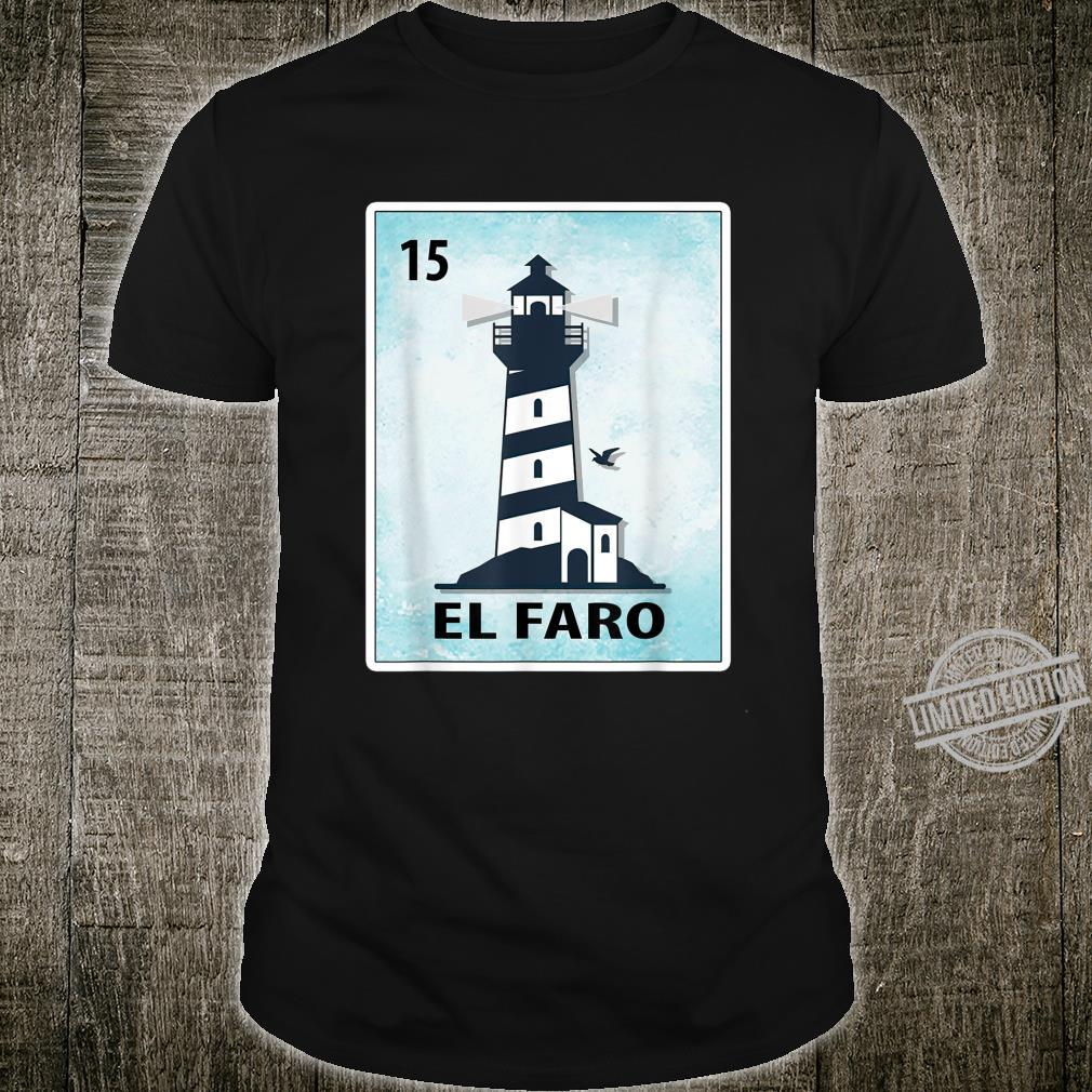 El Faro Mexican Lighthouse Cards Shirt