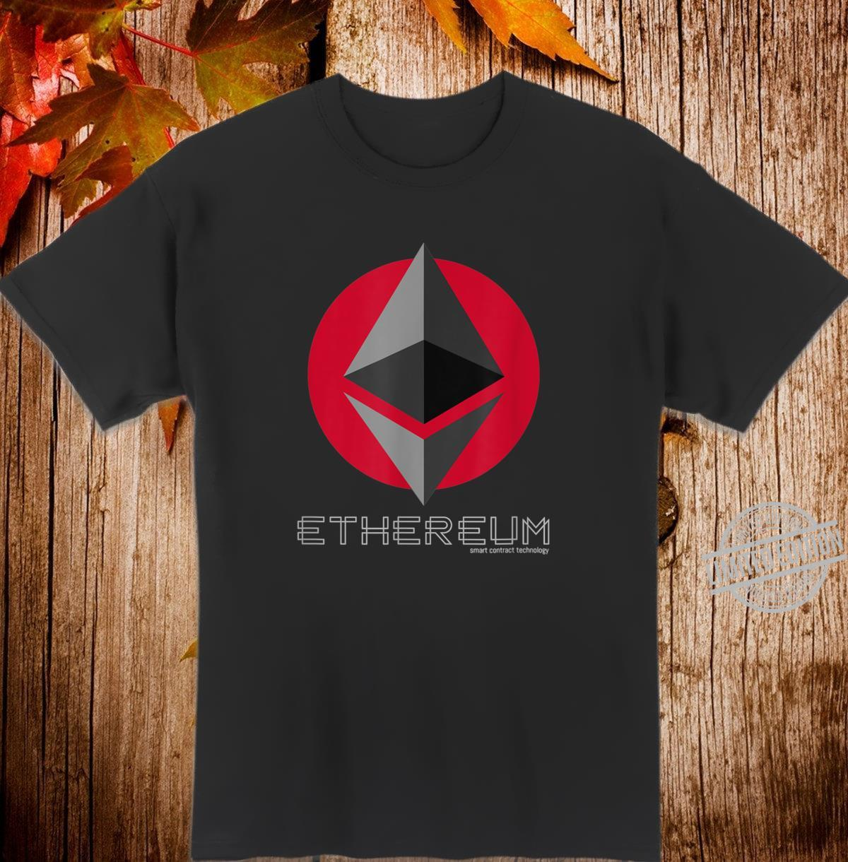 Ethereum Smart Contracts ETH Crypto Shirt