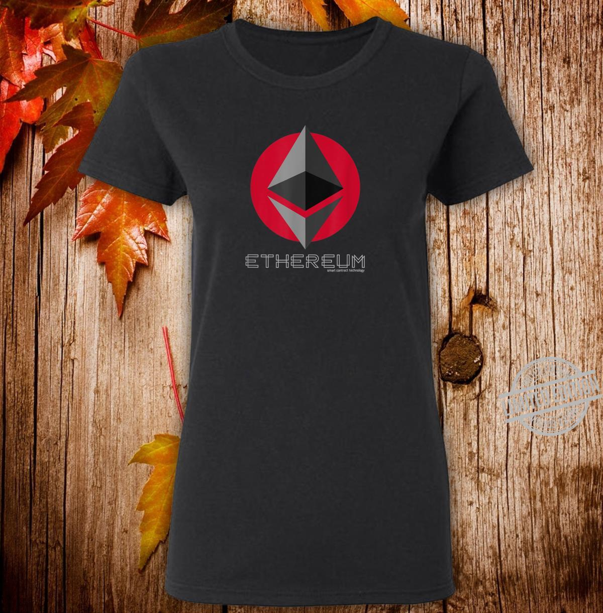 Ethereum Smart Contracts ETH Crypto Shirt ladies tee