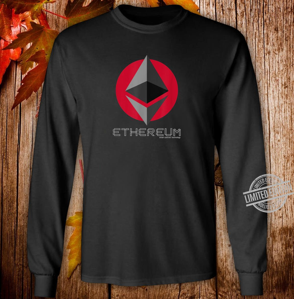 Ethereum Smart Contracts ETH Crypto Shirt long sleeved