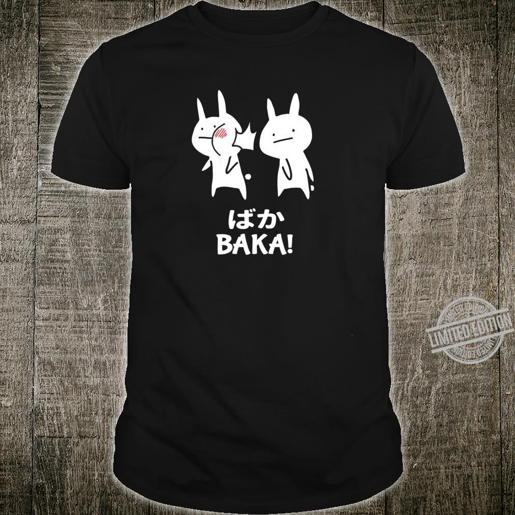 Funny Anime Japan Baka Rabbit Slap Baka Japanese Shirt