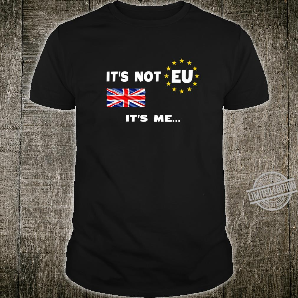 Funny British Independence Day Brexit January 2020 UK Shirt