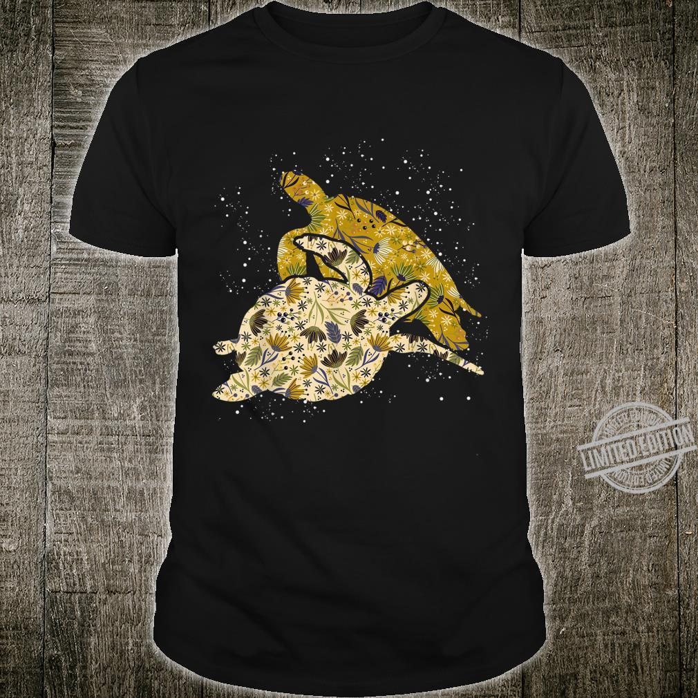 Geschenk für Damen Haustier Tiermotiv Vintage Schildkröte Shirt