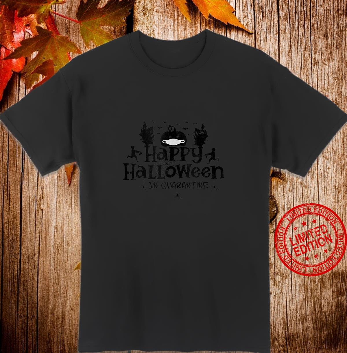 Happy Halloween in Quarantine JackOLantern w Mask Vintage Shirt