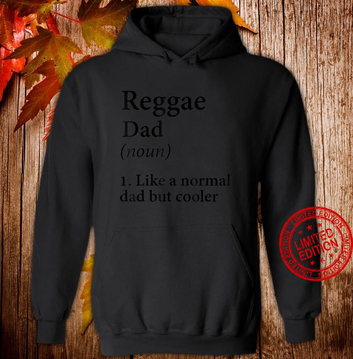 Herren Reggae Dad Geschenk Ganja Dad Shirt hoodie