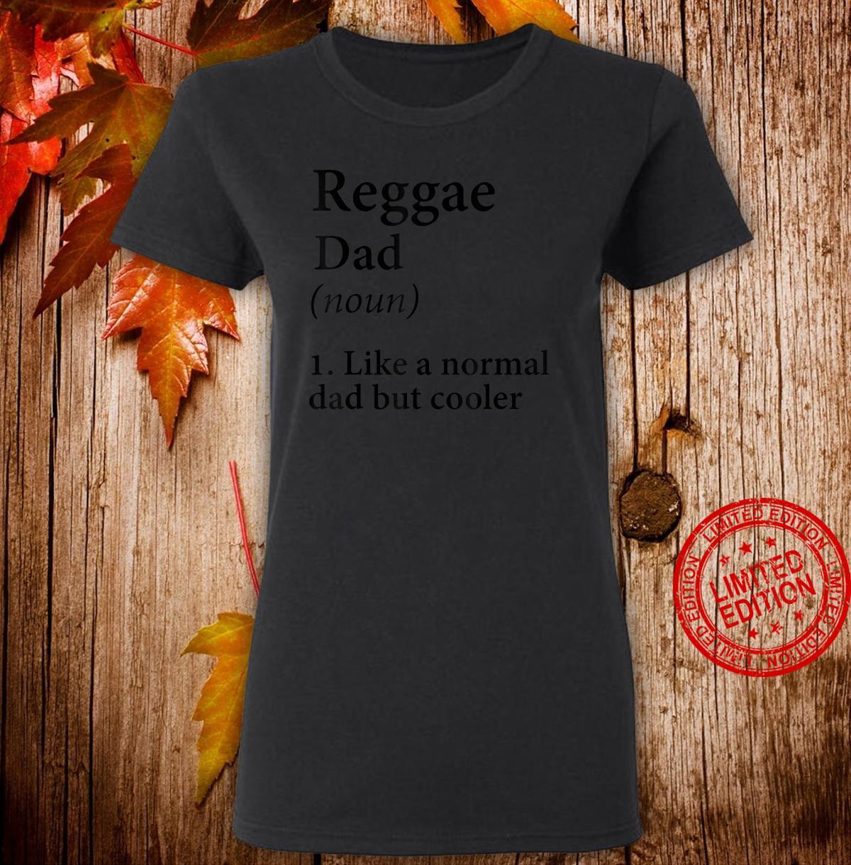 Herren Reggae Dad Geschenk Ganja Dad Shirt ladies tee