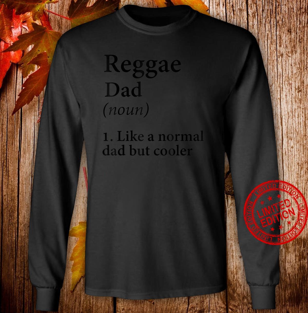 Herren Reggae Dad Geschenk Ganja Dad Shirt long sleeved