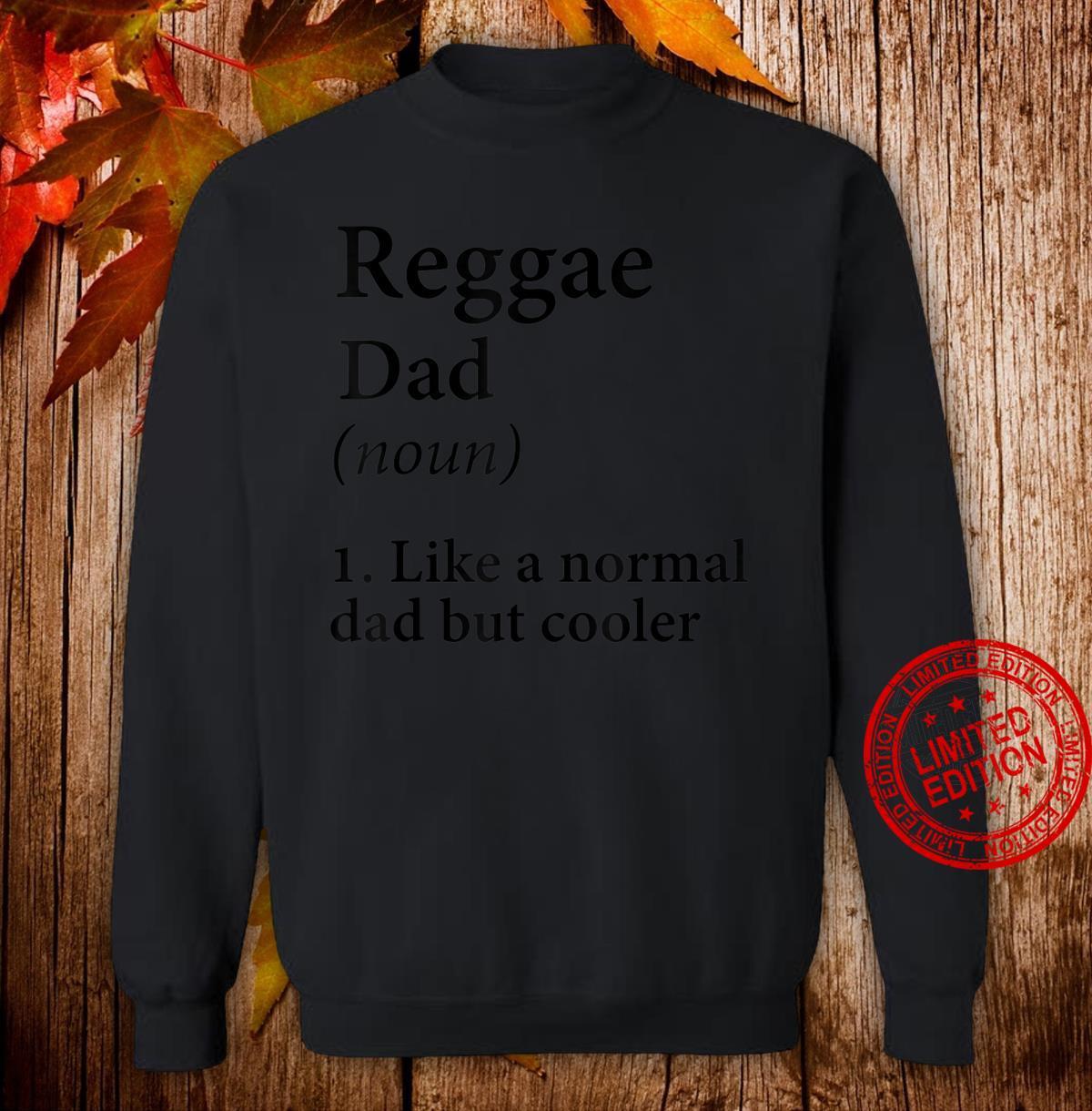 Herren Reggae Dad Geschenk Ganja Dad Shirt sweater