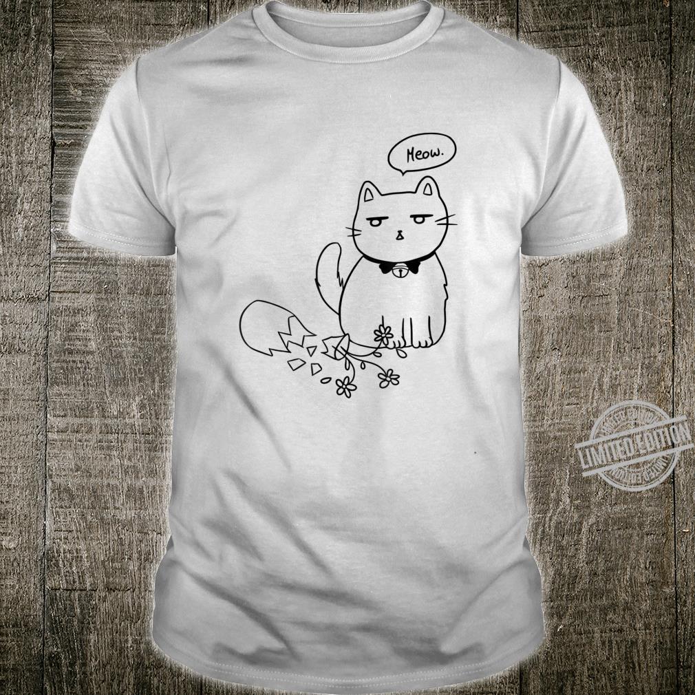 Katzen Shirt Damen süße Katze Kätzchen Stubentiger Kinder Shirt