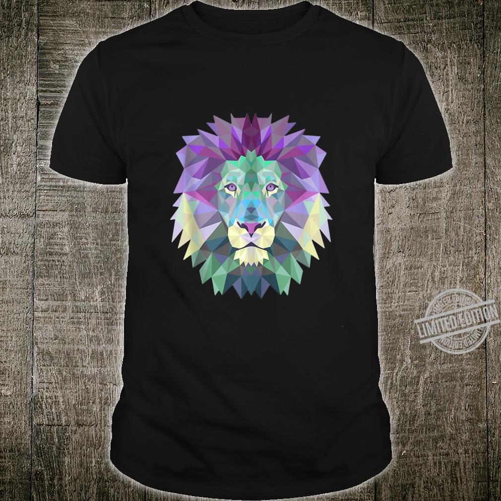 Lion Face Shirt Cool Zoo Animals Shirt