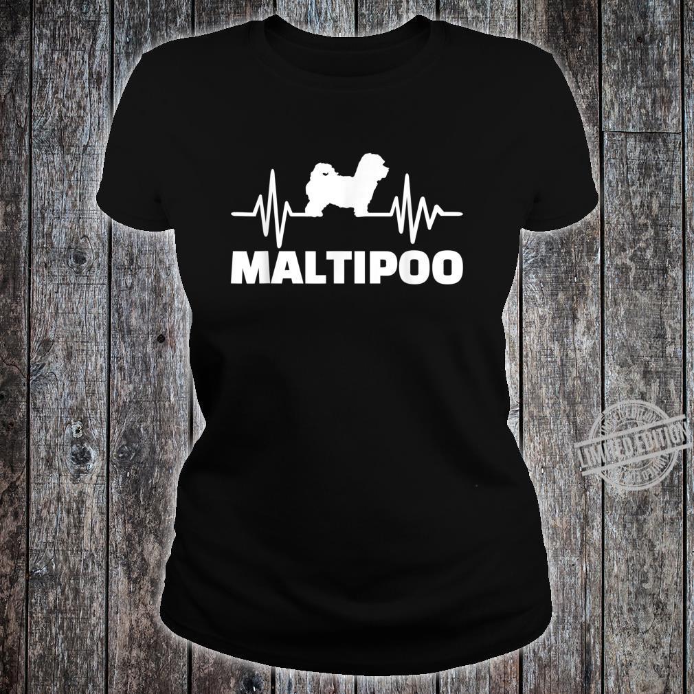Maltipoo Puls Shirt ladies tee